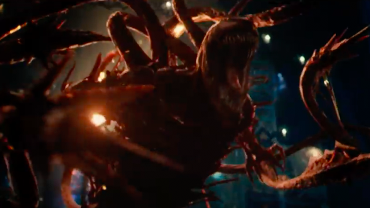 WATCH: We get our first look at Tom Hardy's new adversary in Venom: Let There Be Carnage