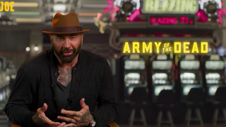 """""""I don't want to be Tom Holland!"""" - Dave Bautista on the difficulty of keeping big Marvel secrets"""