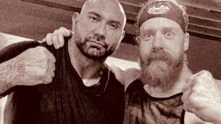 Dave Bautista talks about Sheamus' potential future in Hollywood