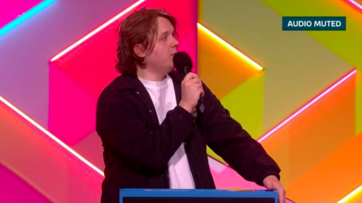 Lewis Capaldi muted by BRITs during chaotic, swear-y speech