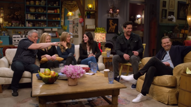 Five huge highlights from watching Friends: The Reunion