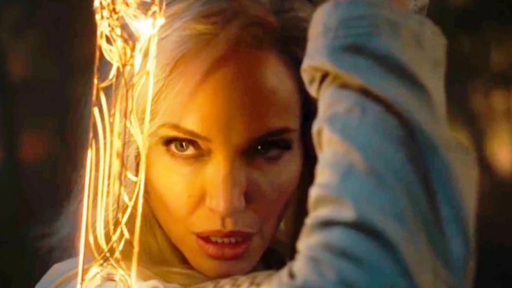 EXCLUSIVE: Angelina Jolie loved working with Barry Keoghan on Marvel's Eternals