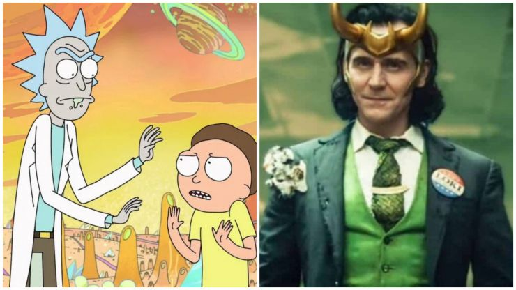 The very strong connection between Loki and Rick & Morty
