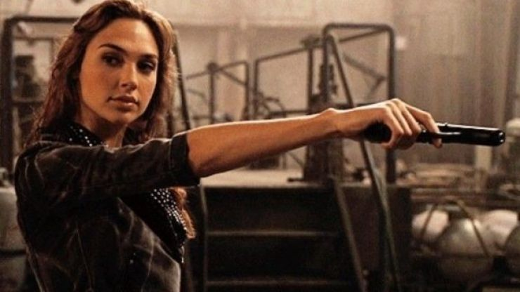 Gal Gadot's scenes were cut entirely from Fast & Furious 7