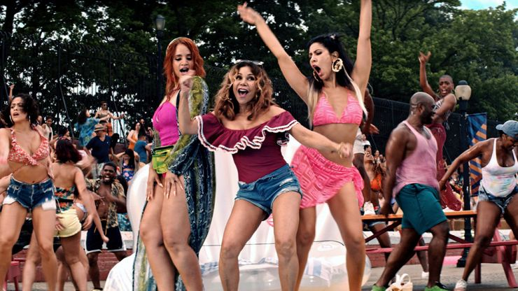 """""""Alcohol helps!"""" - The cast of In The Heights give us some dancing tips"""