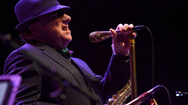 Van Morrison leads anti-Robin Swann chant after concerts postponed