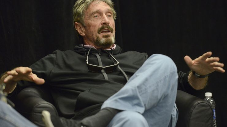 John McAfee's Instagram deleted after cryptic 'Q' post following his death