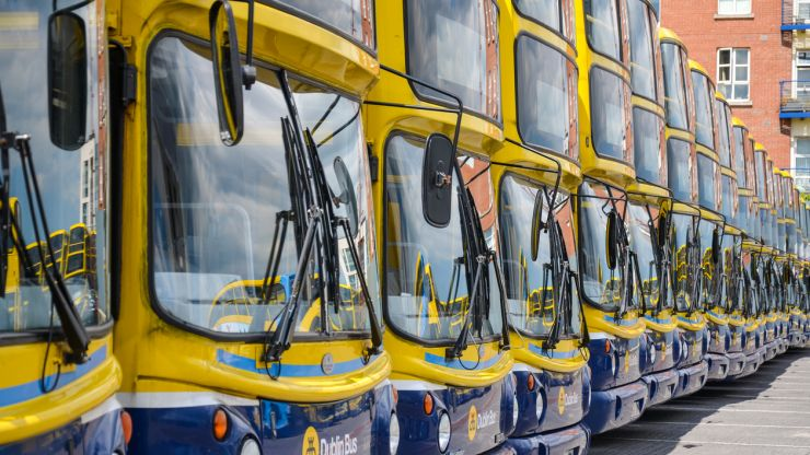 """New """"enhanced"""" bus services to begin this weekend in Dublin"""