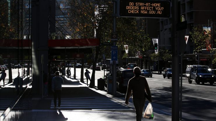 Areas of Sydney sent into lockdown following spike in Covid-19 cases