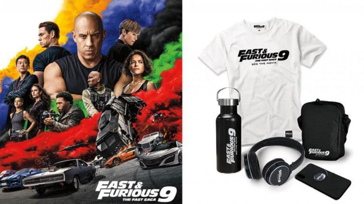 COMPETITION: WIN this very cool Fast & Furious prize pack including state-of-the-art headphones and film goodies