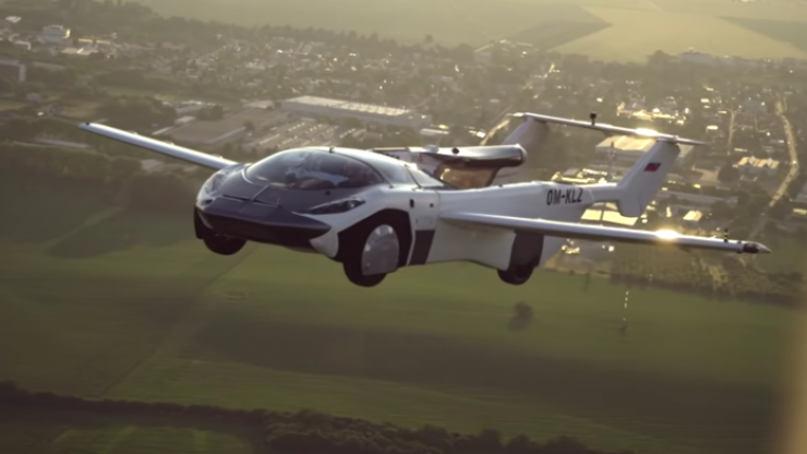 """Flying car """"turns science fiction into reality"""" with first successful test flight between airports"""