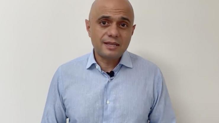 UK Health Secretary Sajid Javid tests positive for Covid-19