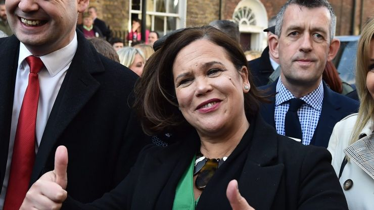 Sinn Féin narrowly beats out Fine Gael as most popular political party in Ireland, according to latest opinion poll