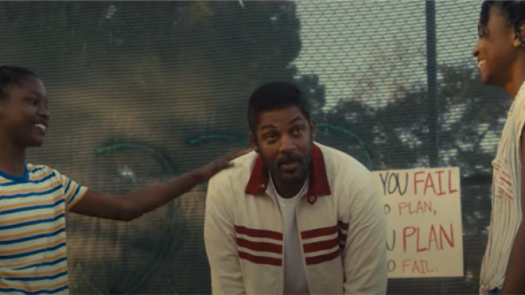 Will Smith could be an Oscar contender playing Venus and Serena Williams' father in King Richard