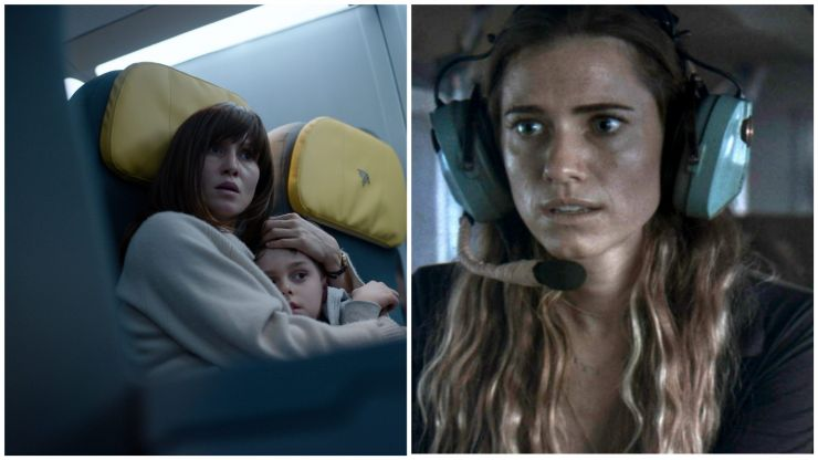Two great new airplane-set thrillers to enjoy at home this weekend