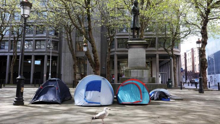 Dublin City Council CEO criticised following comments on homeless tents in Dublin