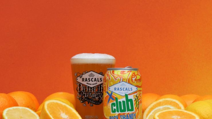Irish brewing company teams up with Club Orange to create a Rock Shandy Pale Ale