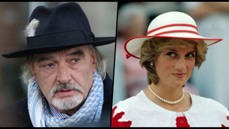 Ian Bailey doubles down on strange claim that Princess Diana flirted with him