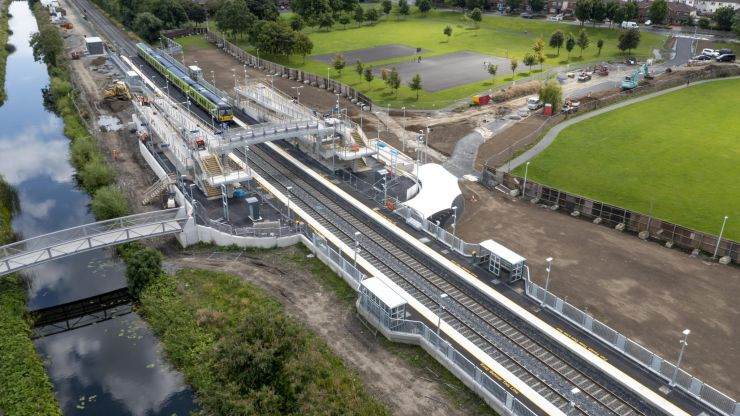 Ireland's newest train station to open this month
