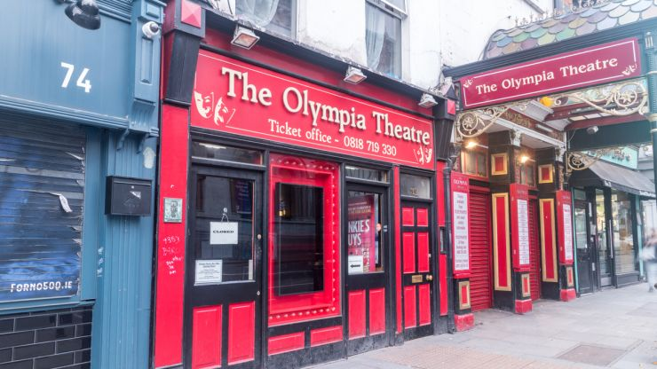 Olympia Theatre in Dublin to be renamed as part of new sponsorship deal