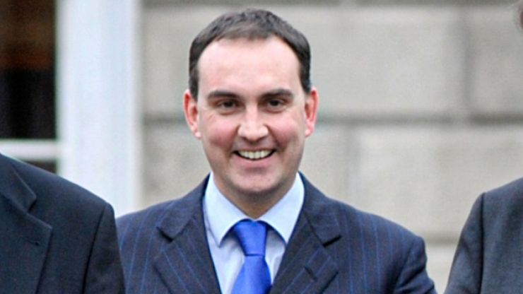 Marc MacSharry sticks the boot into Micheál Martin on his way out the door