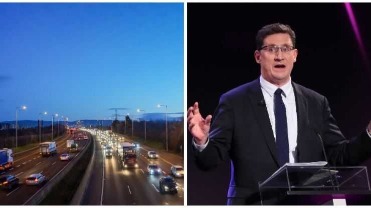 """""""Variable speed limits"""" to be introduced on the M50 in the coming weeks"""