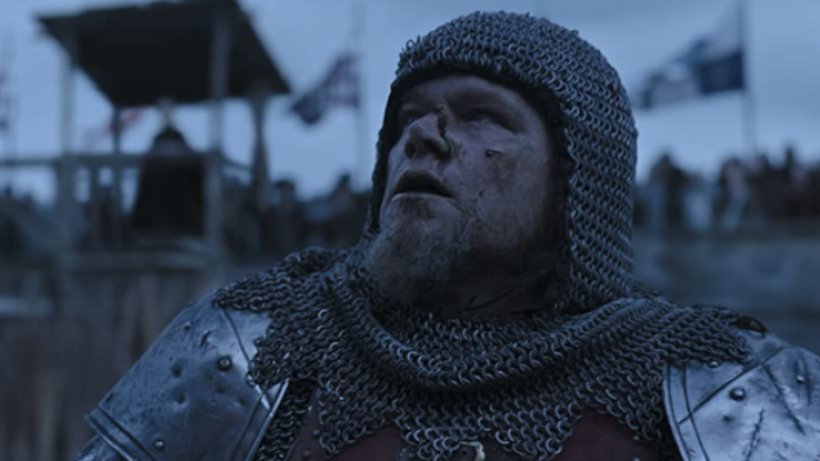The first reviews for Matt Damon's medieval film shot in Ireland have arrived