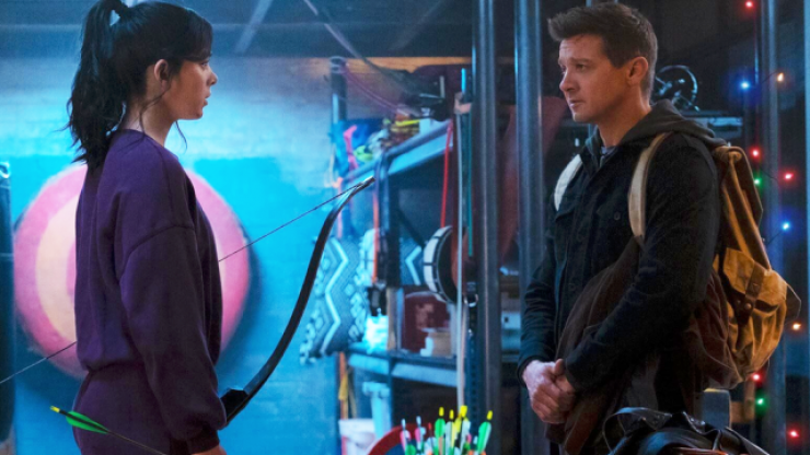 WATCH: Disney's Hawkeye show is channeling Die Hard and Lethal Weapon