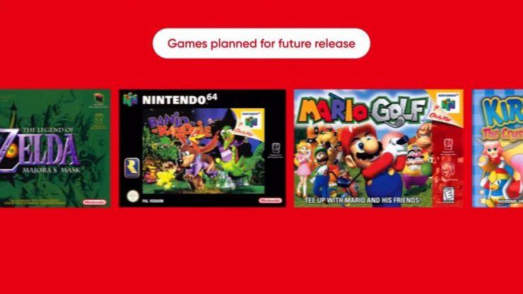 Nintendo is bringing back some classic N64 and Sega Mega Drive games