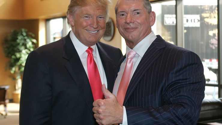 Mick Foley asks Vince McMahon to kick Donald Trump out of the WWE Hall of Fame