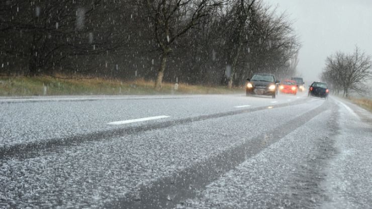 Rain and ice warnings issued for seven counties