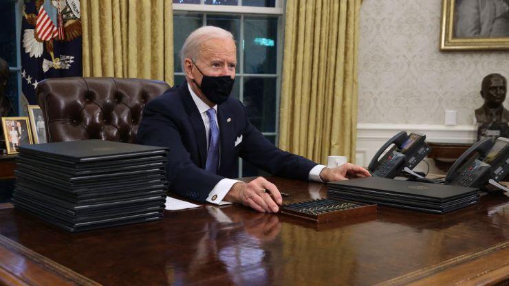 Joe Biden begins presidency with 15 executive orders, some reversing Trump policies