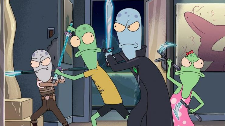 Rick and Morty creator reacts to dropping one of the first f-bombs on Disney+
