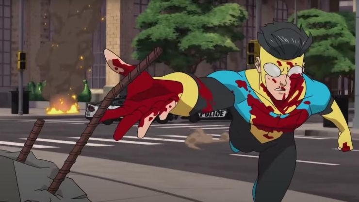 Invincible review: A funny, violent, scary love letter to 90's superhero cartoons
