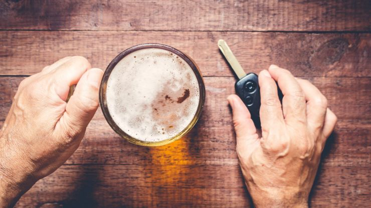 Over one third of road user fatalities test positive for alcohol