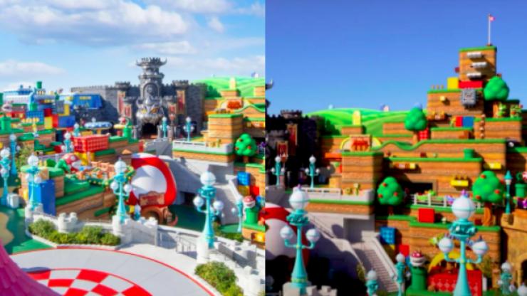 Super Nintendo World is officially open