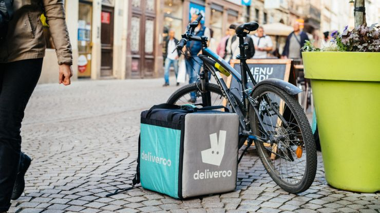 Deliveroo is looking for someone to eat takeaways and review them