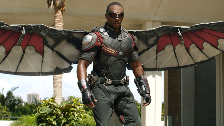 Anthony Mackie can not to be trusted when it comes to Marvel rumours