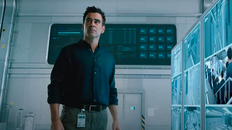 Colin Farrell's new sexy sci-fi thriller is finally available to watch at home in Ireland this week