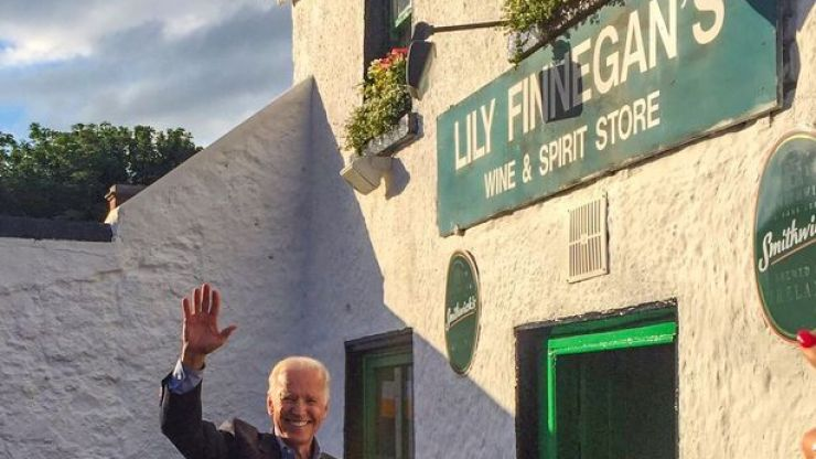 """Investigation launched after """"large sum of cash"""" stolen from pub once owned by Joe Biden's ancestors"""