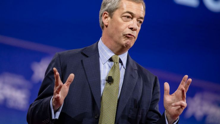 """Nigel Farage tricked into saying """"Up the Ra"""" in video birthday greeting"""