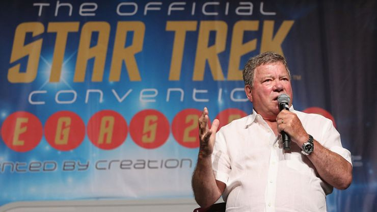 Star Trek star William Shatner to actually journey into space today