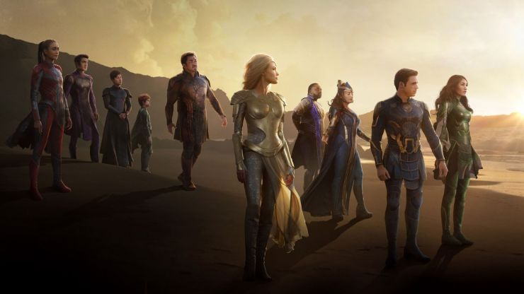 Eternals will feature the Marvel Cinematic Universe's first sex scene