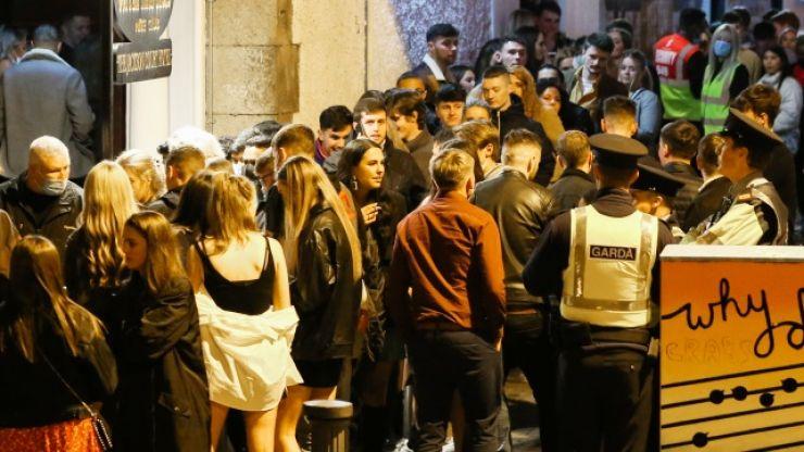 WATCH: Massive queues in Dublin as nightclubs finally reopen