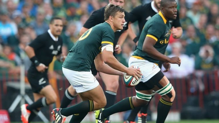 Ireland beware: South Africa's new sensation Handre Pollard means business
