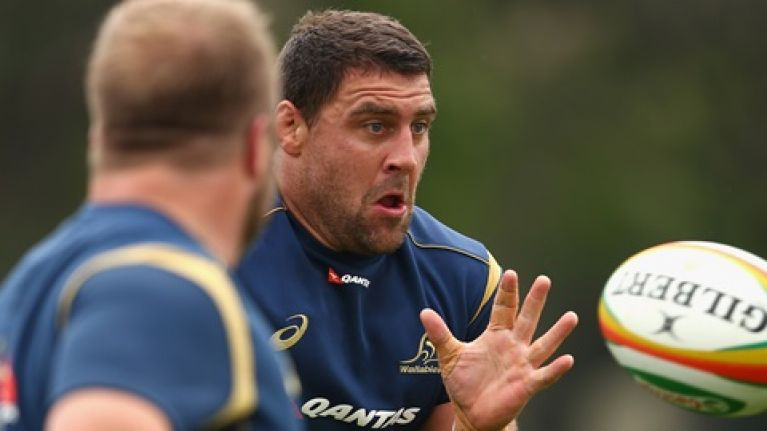 Meet the rugby player who went from coal-mining to Wallabies hooker