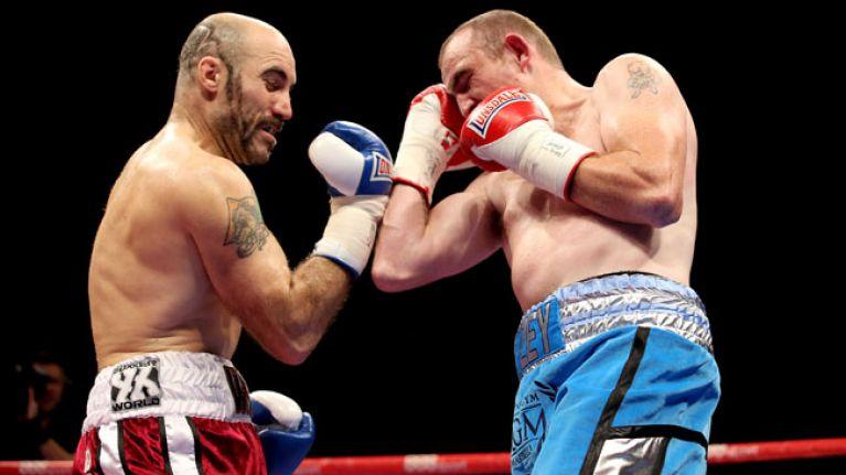 Vine: Irish boxer Gary Spike O'Sullivan scores stunning first round KO