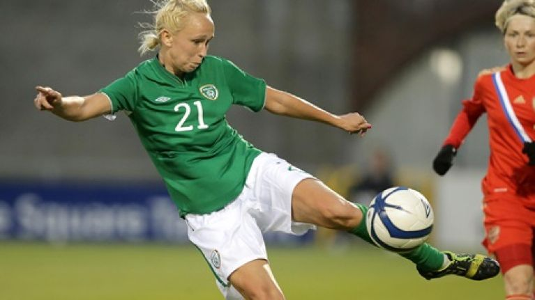 Stephanie Roche speaks about THAT goal and the importance of votes for women's football