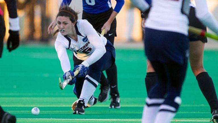 Meet the Irish girl who's been one of the top hockey players in America this year