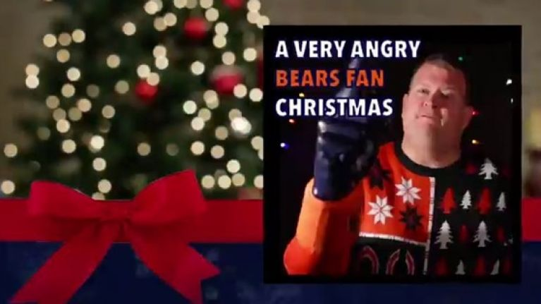 Spoof Christmas album the perfect gift for the Chicago Bears fan in ...